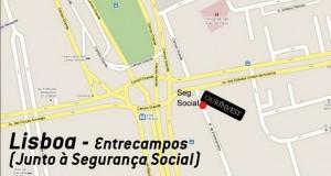 Ourinvest Entrecampos Mapa